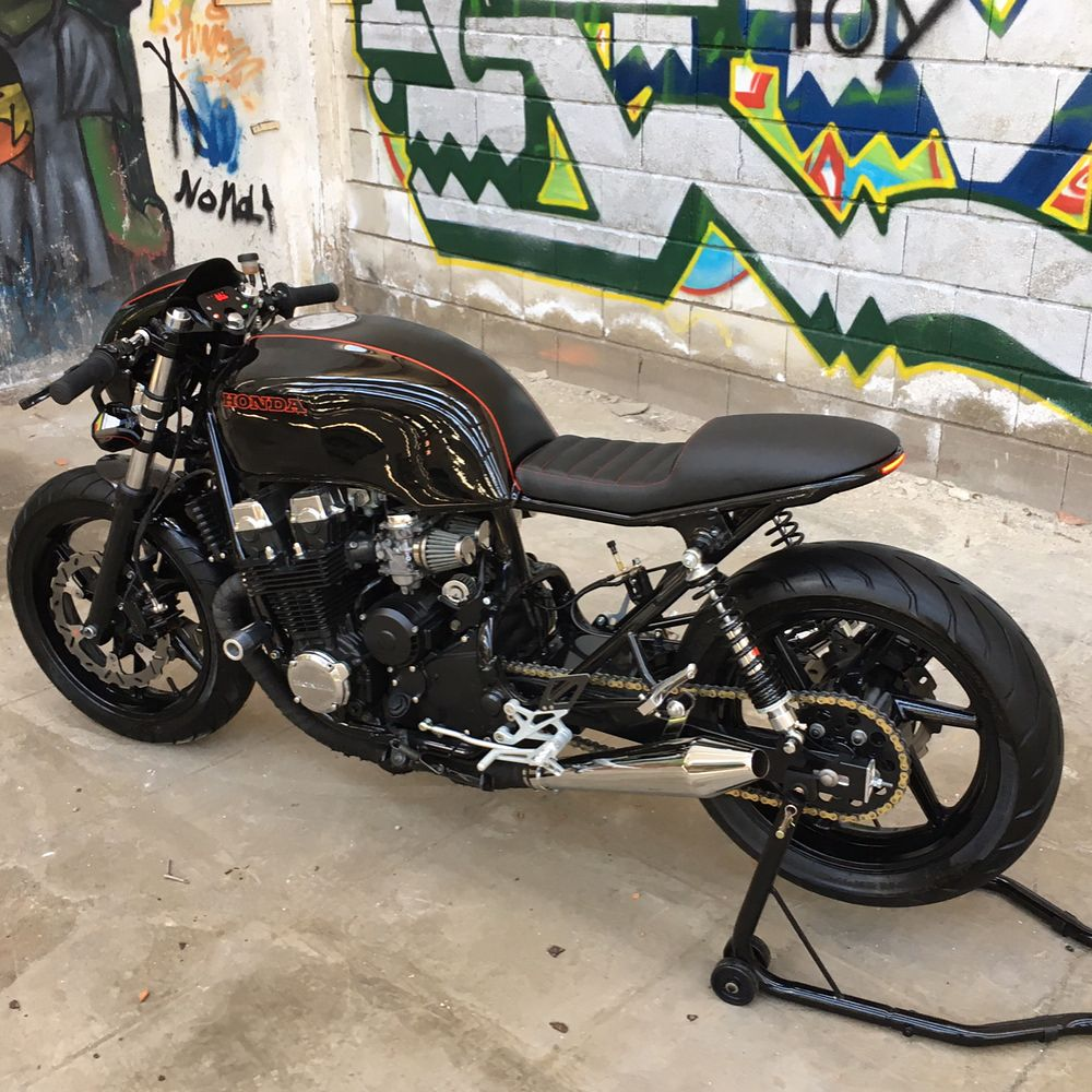 Honda Cb750 Seven Fifty Imperialcaferacer Cafe Racer Honda Cb750 Cafe Racer Moto