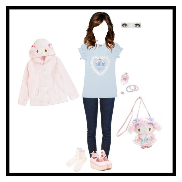 """""""Casual cutie"""" by ali-the-gr8 ❤ liked on Polyvore featuring Frame Denim, Bling Jewelry and Victoria's Secret"""