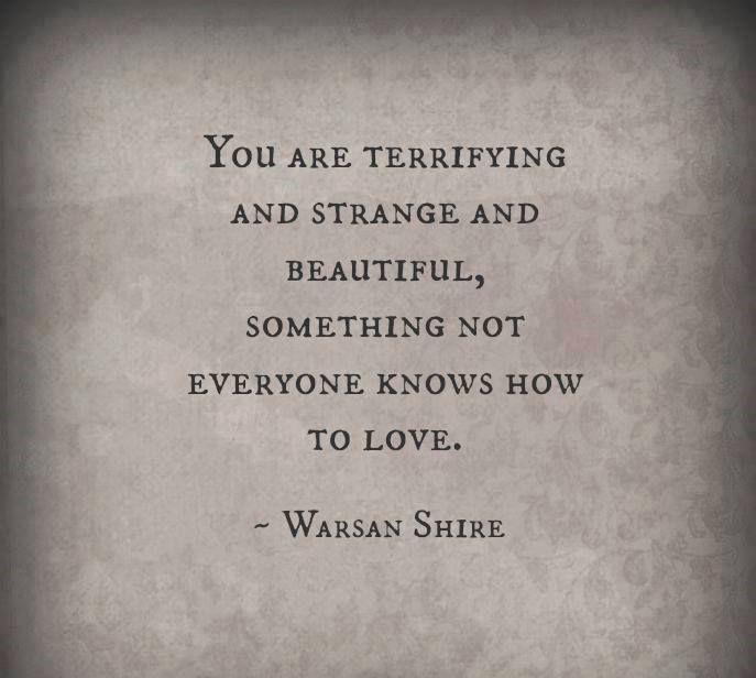 vackra ord till en kvinna