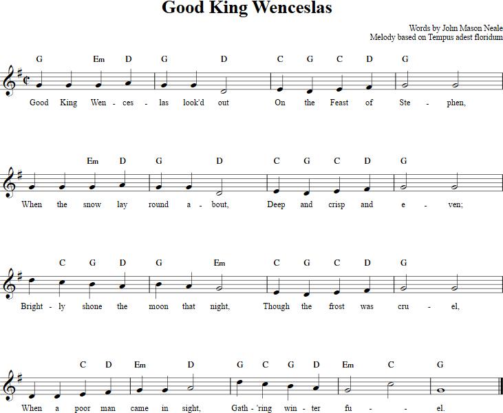 good christmas songs for church