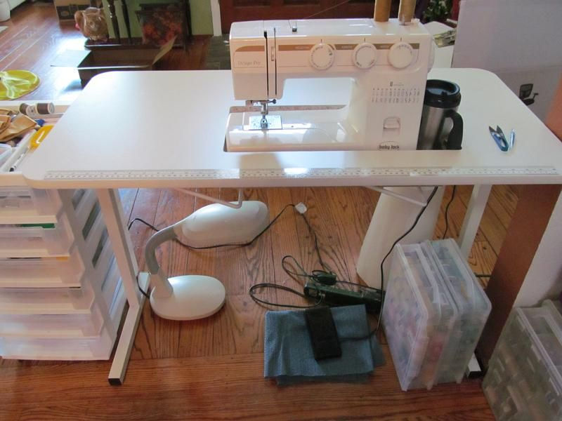 Sewing Table Set Up As Decribed In My Review Sew Fun