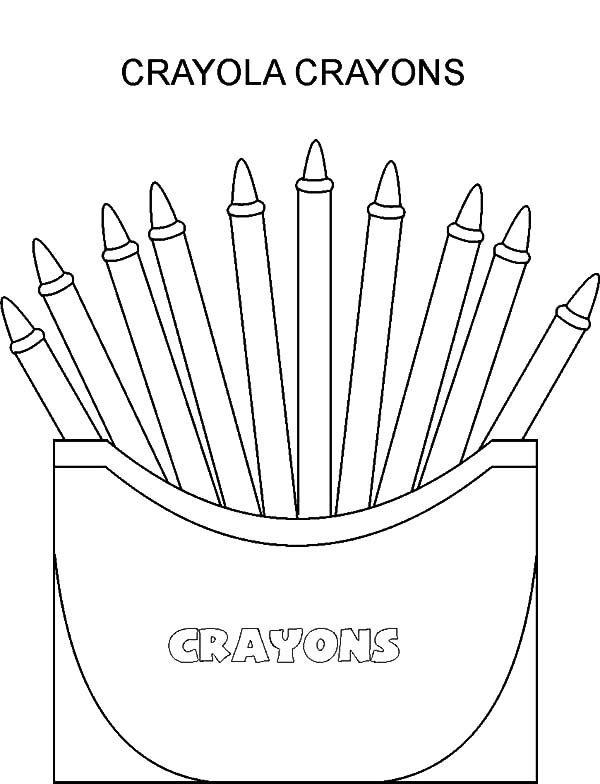 Introducing Colour With Box Crayons Coloring Pages Best Place To Color Crayola Coloring Pages Printable Coloring Book Coloring Pages Winter