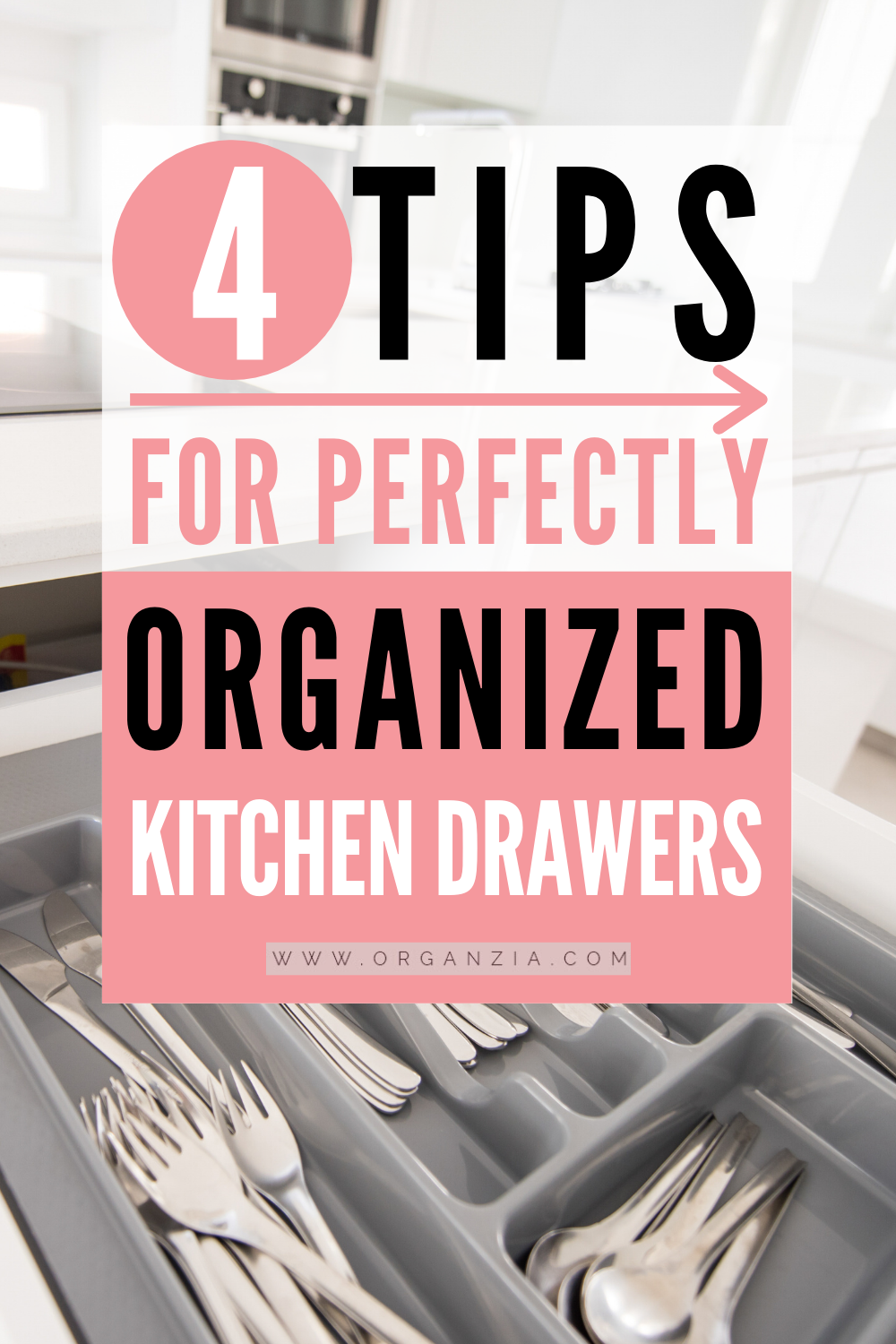 How To Organize Kitchen Drawers Instead Of Cabinets Organzia In 2020 Kitchen Drawer Organization Kitchen Organization Kitchen Drawers