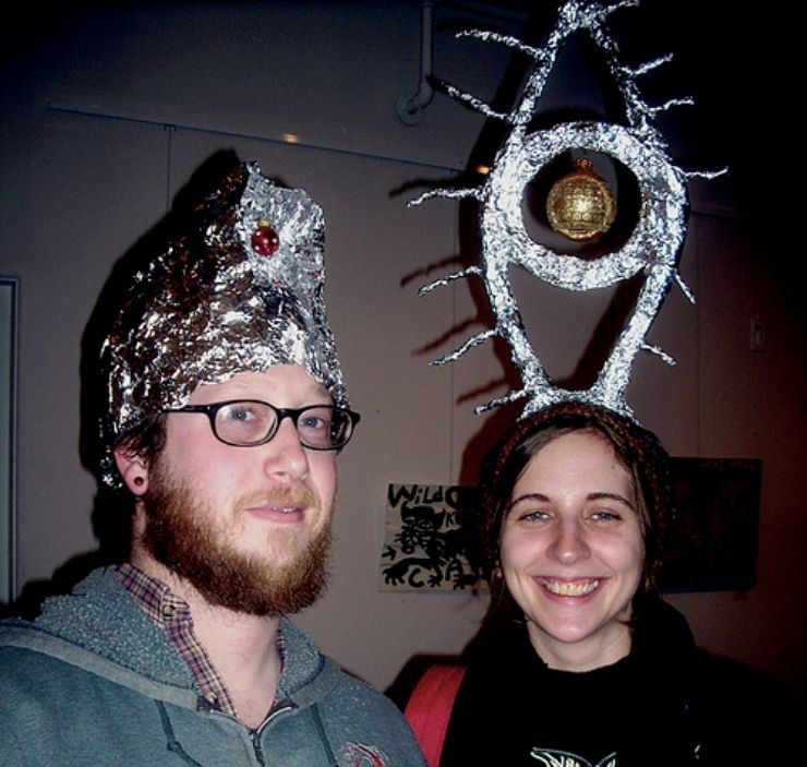 4f279e20bae Tinfoil All Seeing Eye Hat  I ve been doing it wrong all of these years...  Time to up my crazy game.
