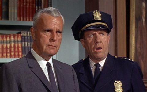 Neil Hamilton As Police Commissioner James Gordon Stafford Repp As Chief O Hara Batman Tv Show Batman Tv Series Batman Cast