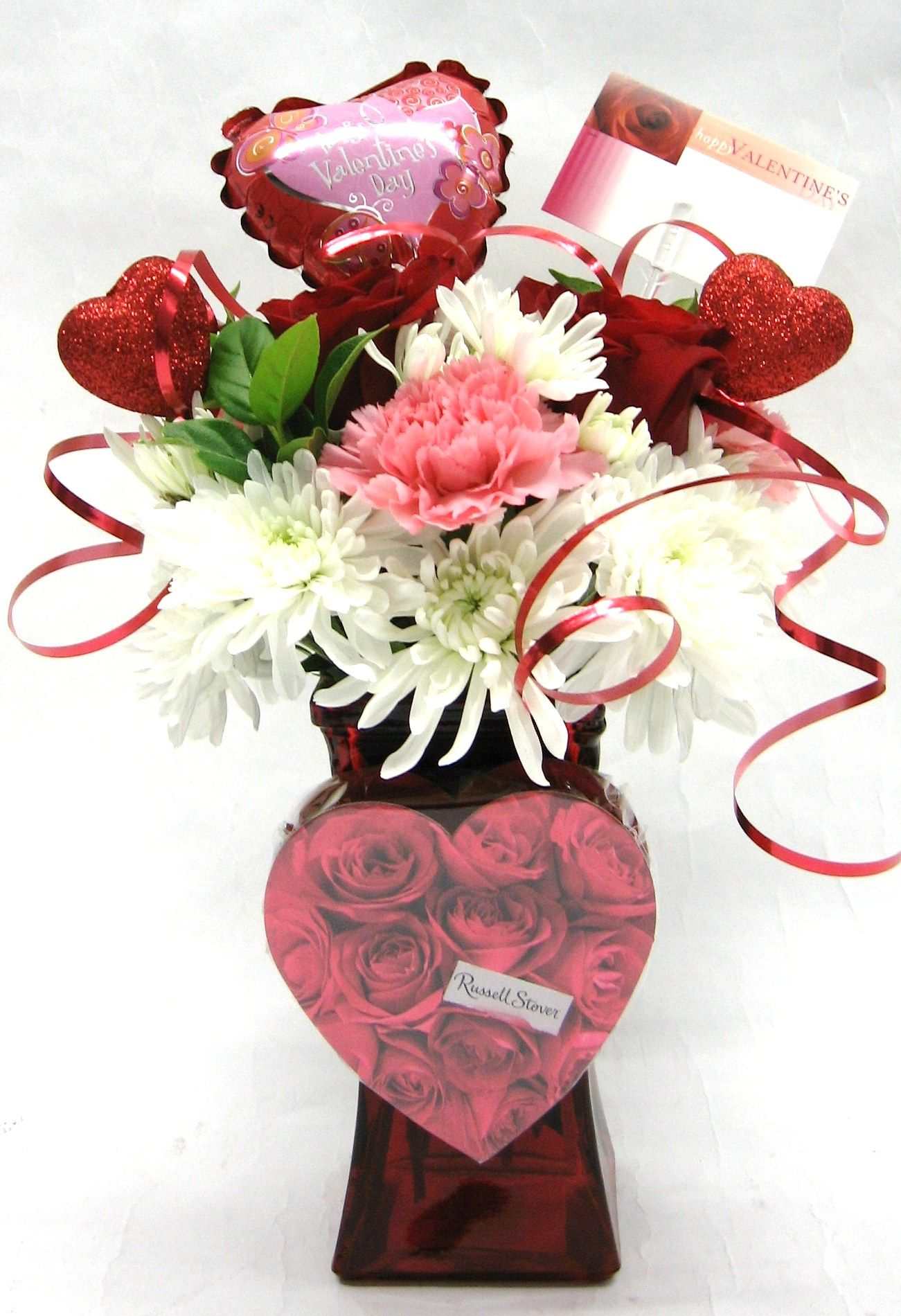 Chocolate & Flowers Valentine's Day Bouquet | Business ...