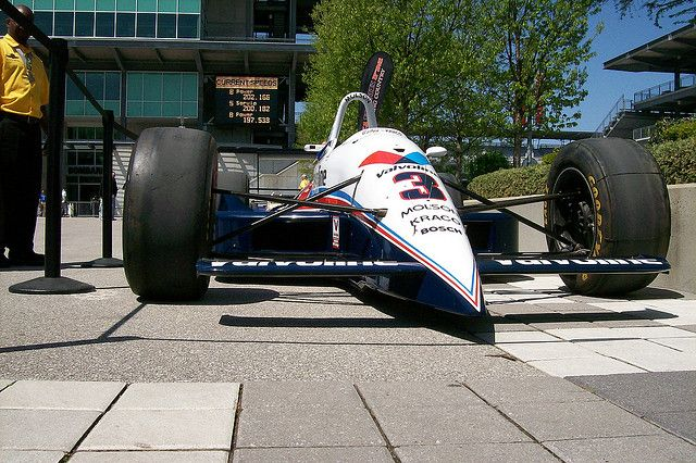 Galmer G92 Chevrolet Indy Cars Racing Race Cars