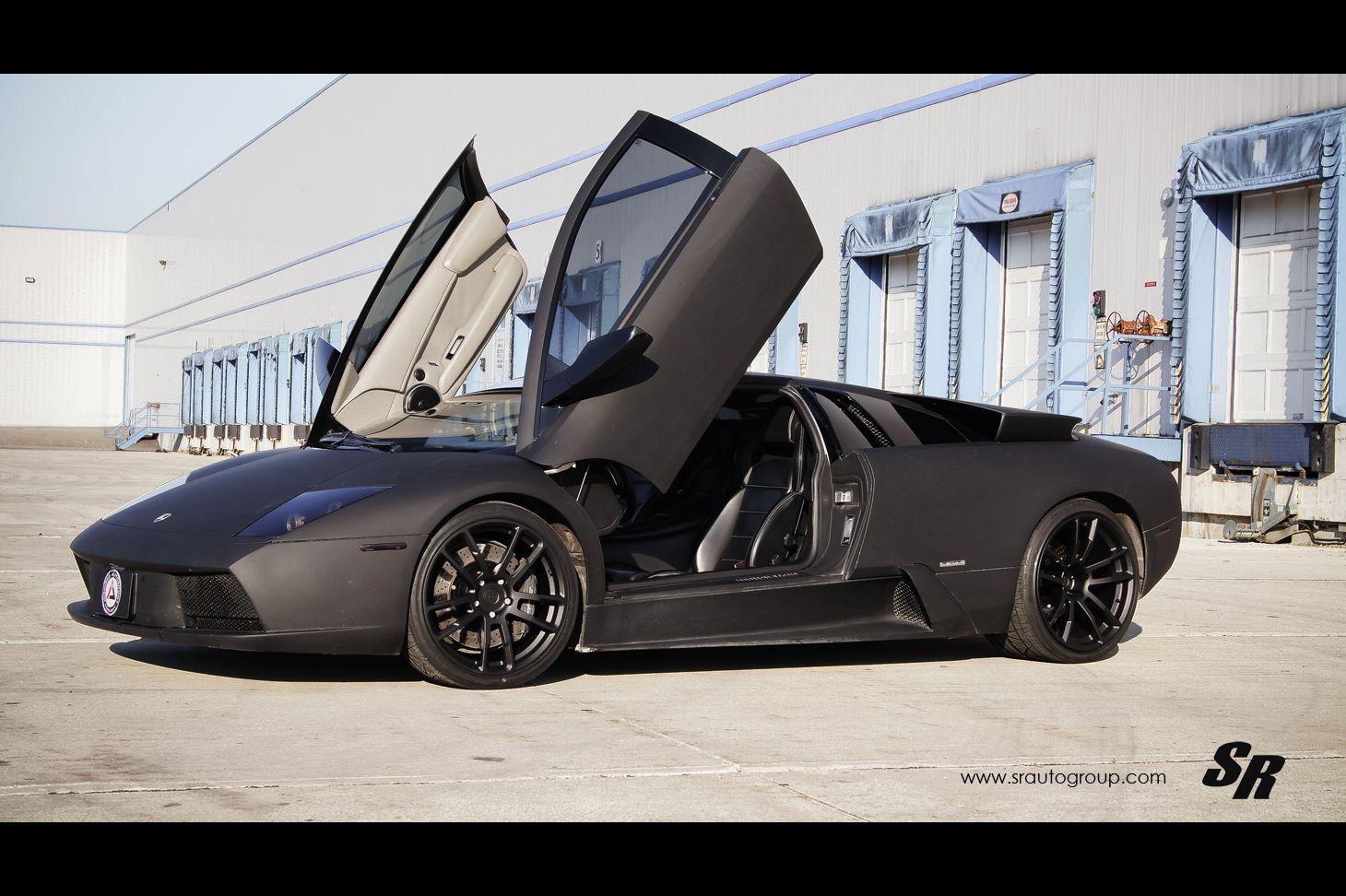 Murcielago Lamborghini All About Cars Matte Black Cars