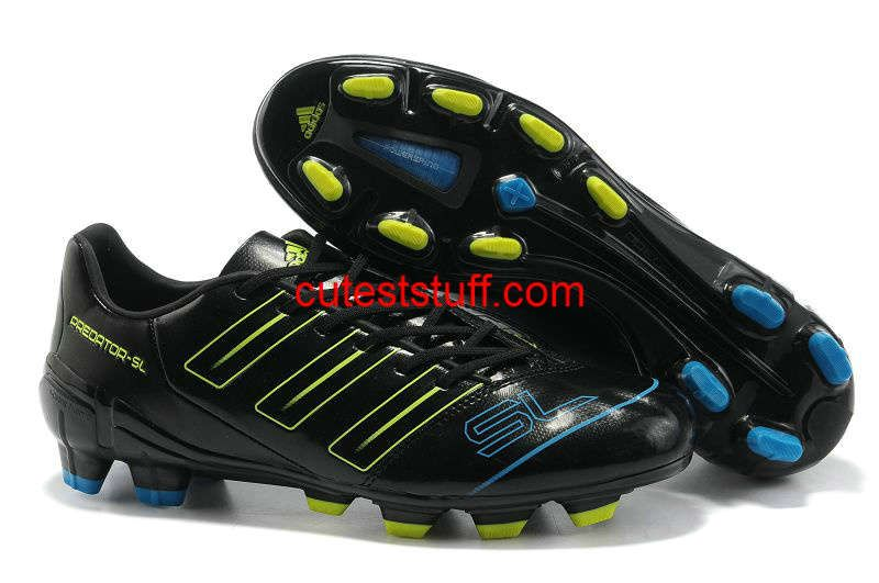 cfbe87ce3b63 Adidas Adipower Predator SL TRX FG Black Electricity Sharp Blue ...
