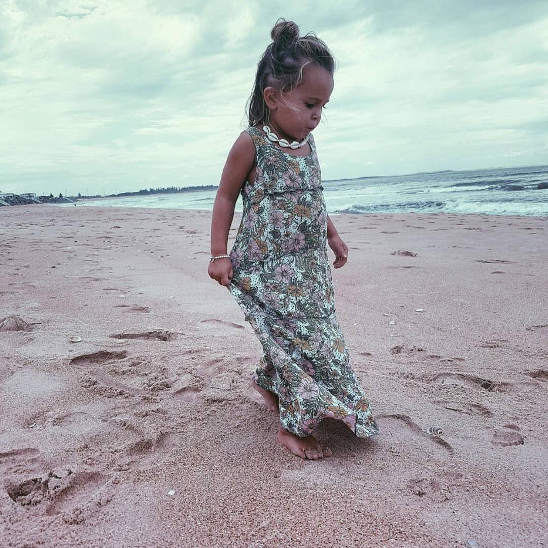 Little mermaid jaylantazeoaklee in our forever flower maxi