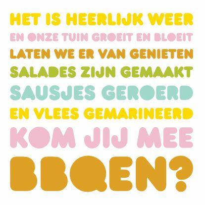 Verbazingwekkend tekst voor uitnodiging tuinfeest - Google zoeken | Tuinfeest WQ-42