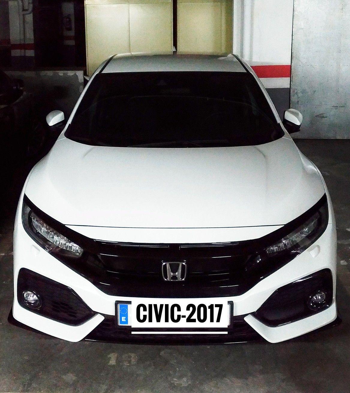 Honda civic sport 2017 1.5 turbo white Honda civic 2017