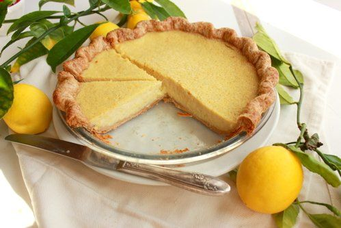Meyer Lemon Buttermilk Pie Recipe Buttermilk Pie Delicious Lemon Desserts Bojon Gourmet
