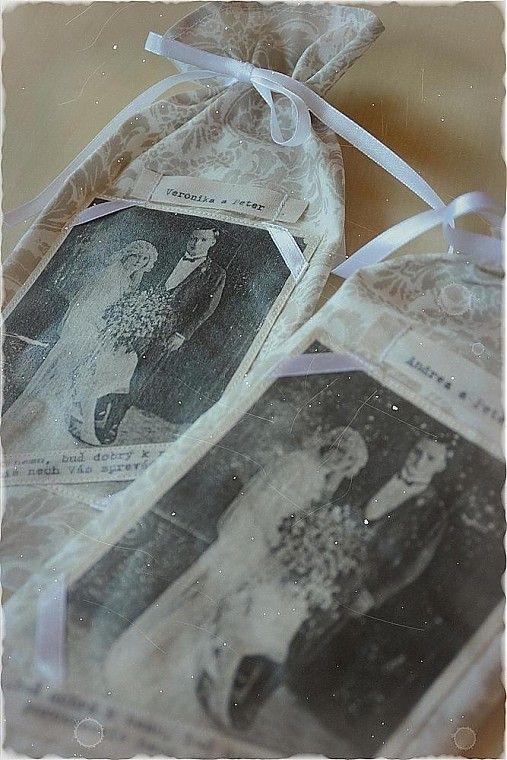 Darčekové vrecúško pre novomanželov