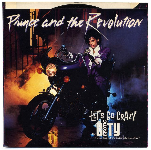Let's Go Crazy b/w Erotic City.  Prince and the Revolution, Warner Bros. Records/USA (1984)