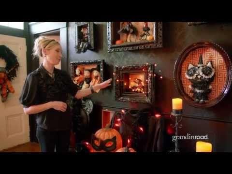 How to Make a Halloween Shadowbox | Grandin Road - YouTube
