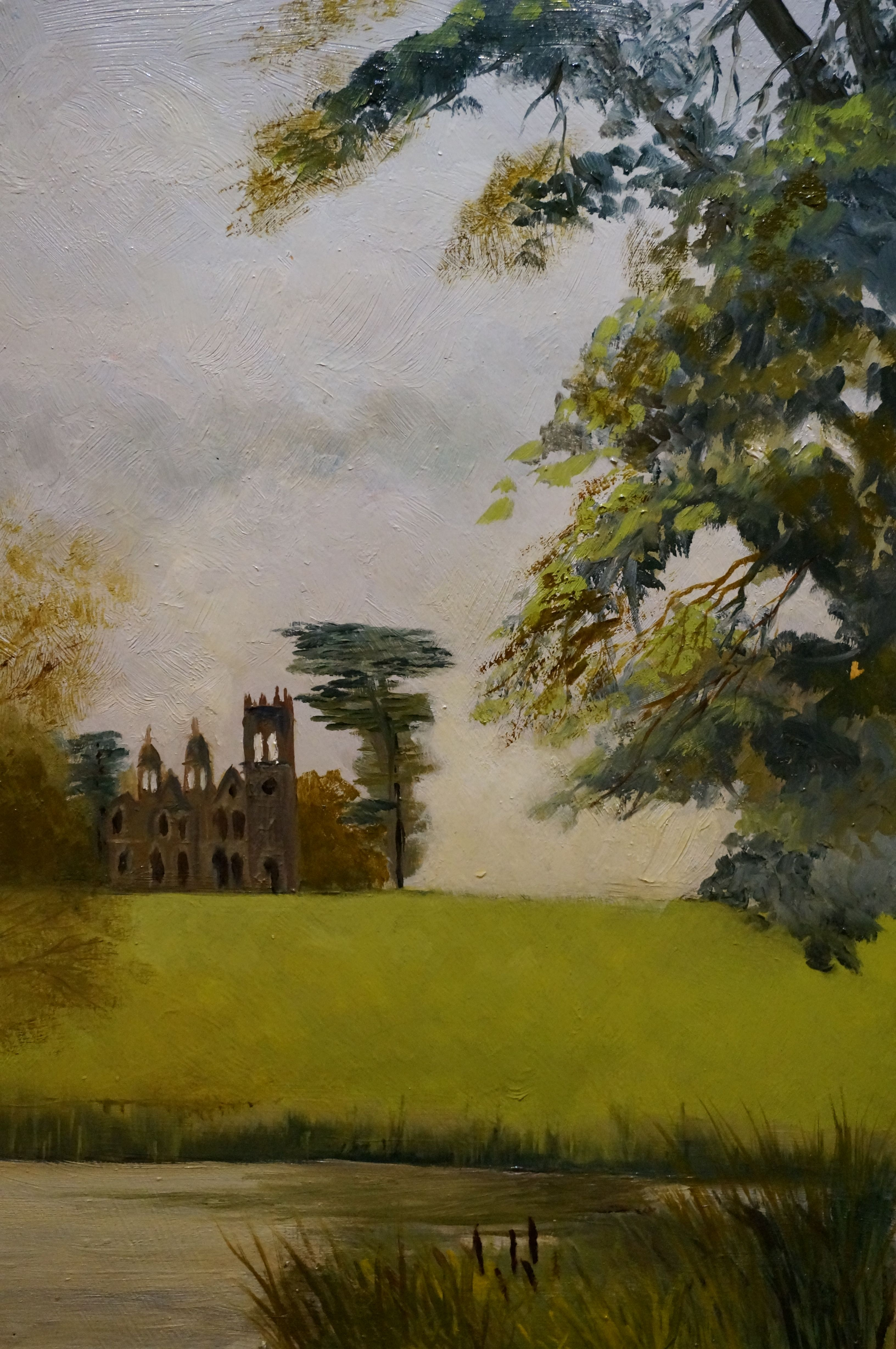 Gothic temple painted on location at stowe landscape gardens stowe gothic temple painted on location at stowe landscape gardens workwithnaturefo