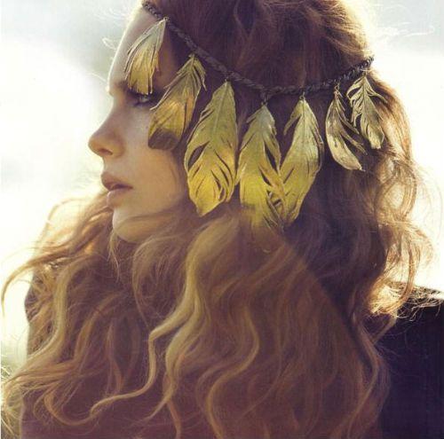 My Hippie Wishlist Feather Headdress Feather Headband American Princess