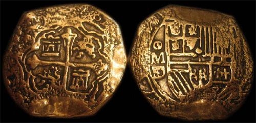 The most famous of all Spanish gold coins was the Spanish