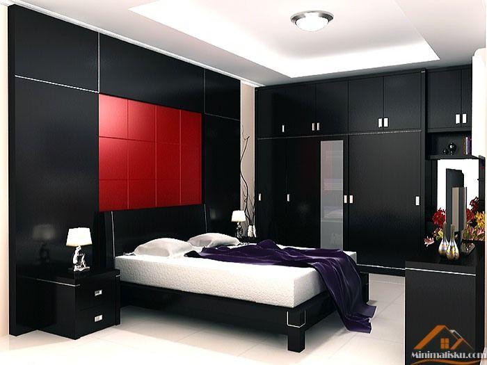 Desain Interior Kamar Tidur Utama - http://minimalisku.com/desain-interior-kamar-tidur-utama