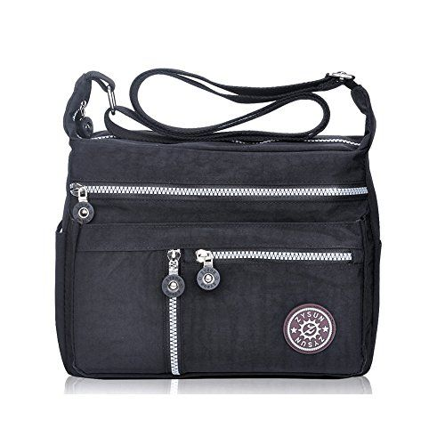 5710c64293b21 Buy Fashion Crossbody Bags, ZYSUN Designer Messenger Bag Purses and Handbags  for Women and Girls(601N, black) and other Cross-Body Bags at Amazon.com.
