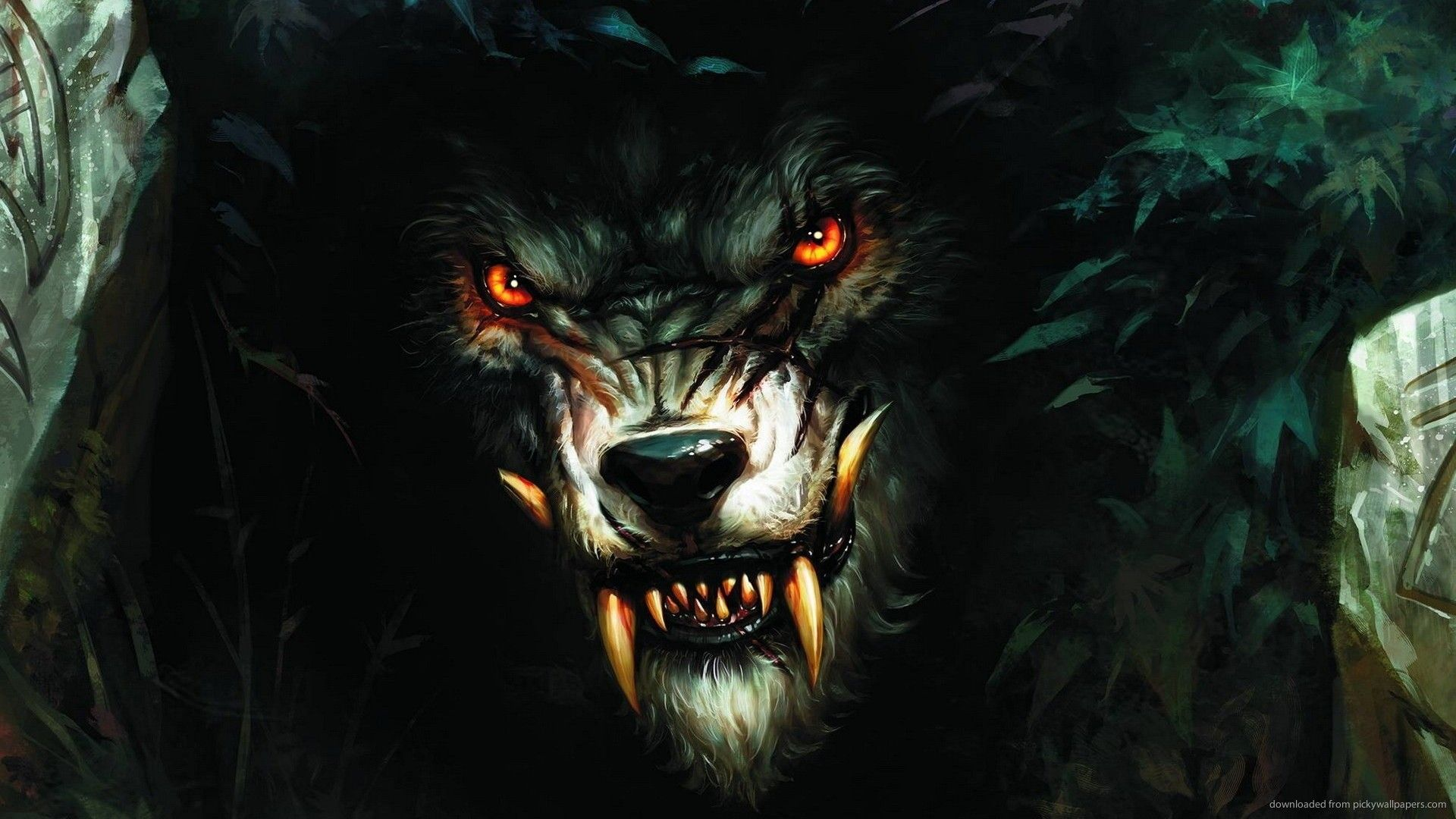 Black Wolf Wallpaper - Android Apps on Google Play
