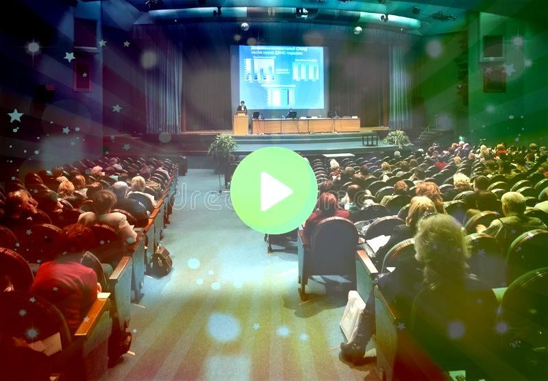 in auditorium MOSCOW  FEBRUARY 28 People on conference ÃÂÂRehaSpoM Conference in auditorium MOSCOW  FEBRUARY 28 People on conference ÃÂ&Ac...