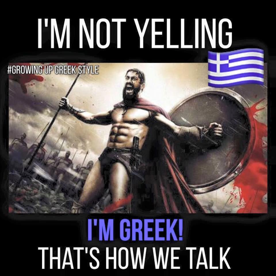 Greek open cunt