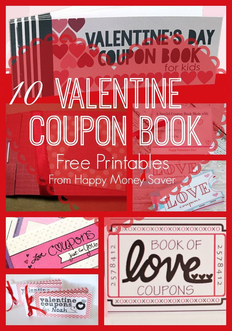 Valentines Day Coupon Book Free Printables  Free Printables
