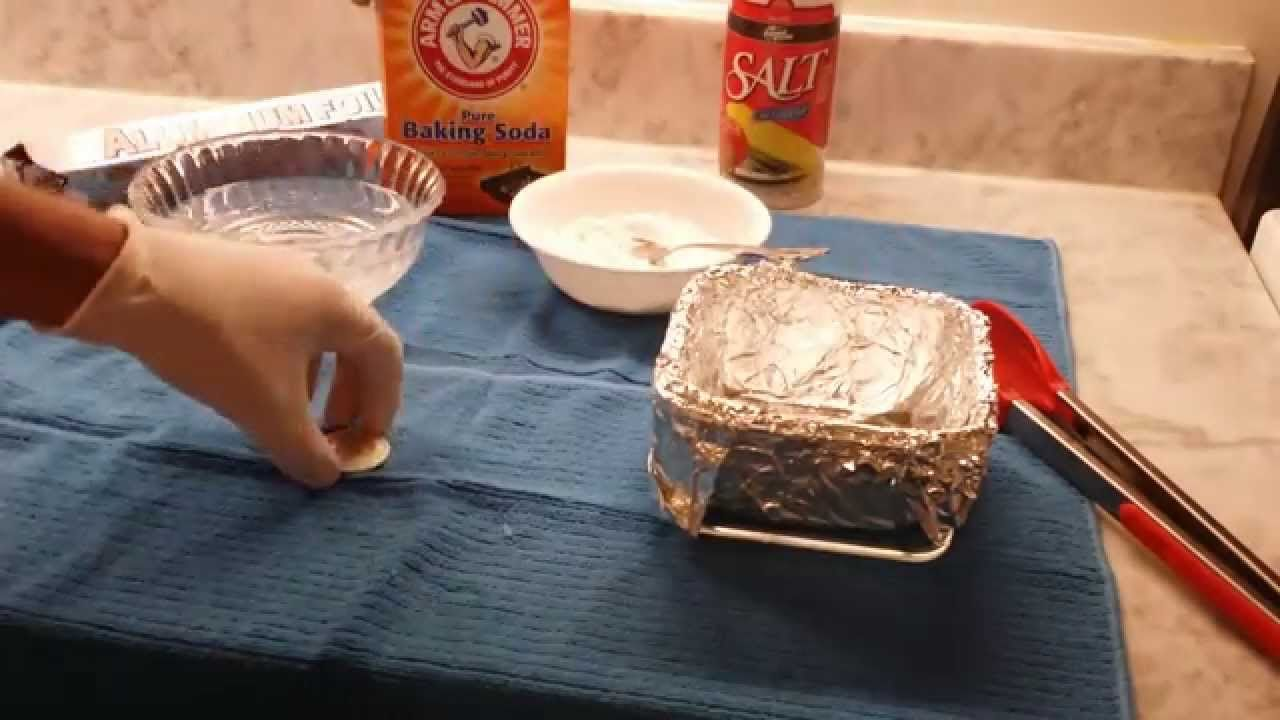 How to clean your silver coins and silver bars Silver