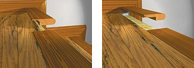Stair Nose Installation: Transition Molding Pieces Hardwood Floors, Maple  Hardwood, Shaw Flooring,