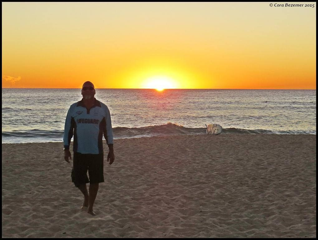 H's last day as a Bondi lifeguard ( The sound of waves