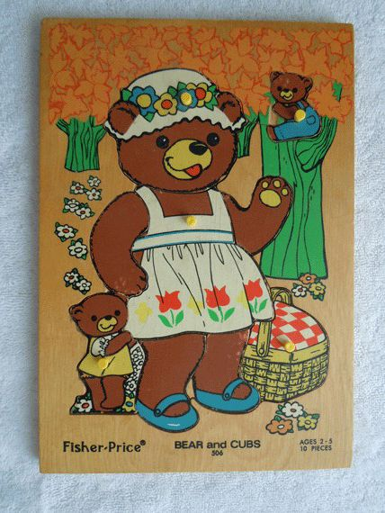 Fisher Price Bear Puzzle