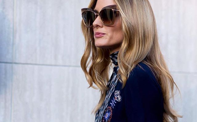f83fb79ec20f Olivia Palermo spotted in the DITA Eyewear STORMY cat-eye
