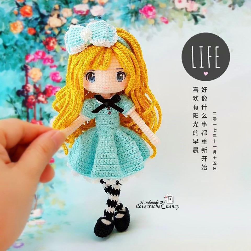 Amigurumi dolls & Pattern PDF (@kat_yarovishka) • fotos e vídeos ... | 960x960
