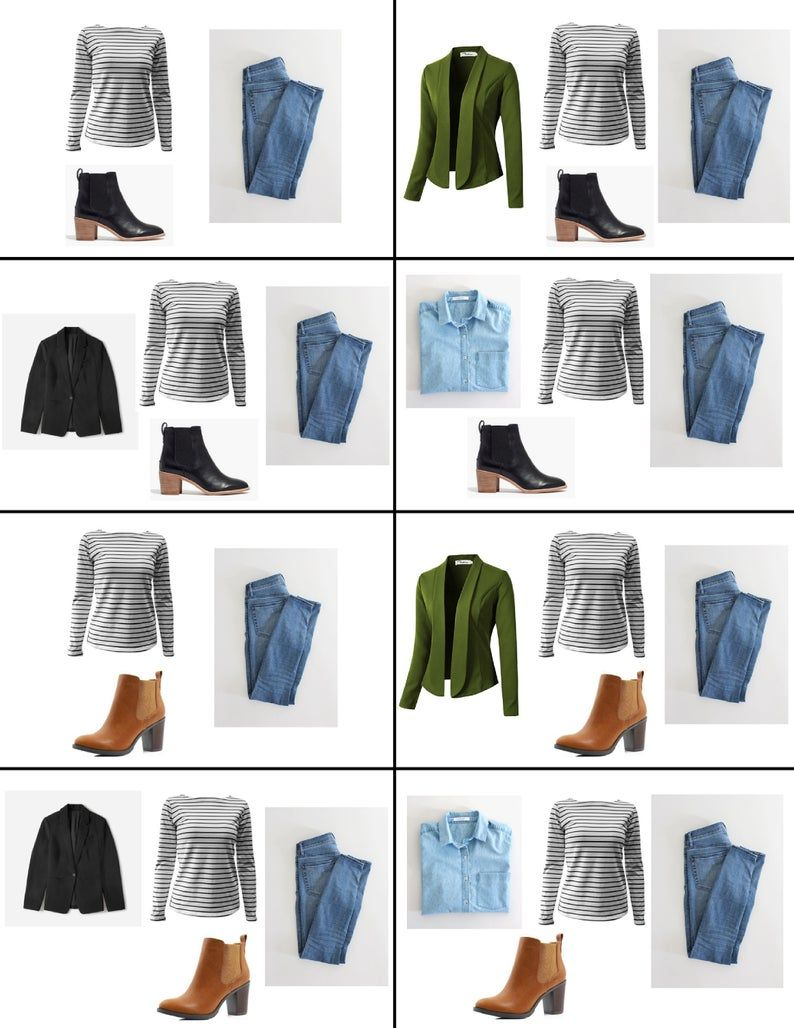 Capsule Wardrobe Guide. Find your style. Edit your