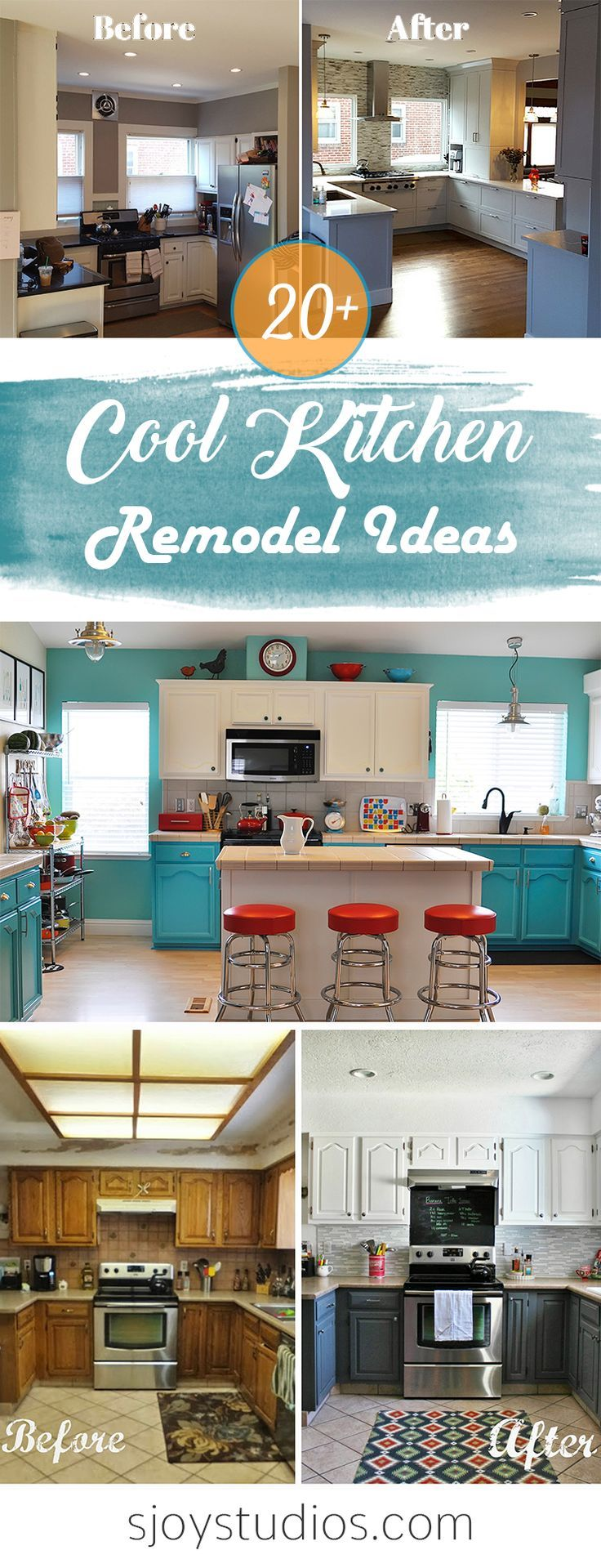 These 20+ Cool Kitchen Remodel Ideas Will Surely Blow Your Mind ...