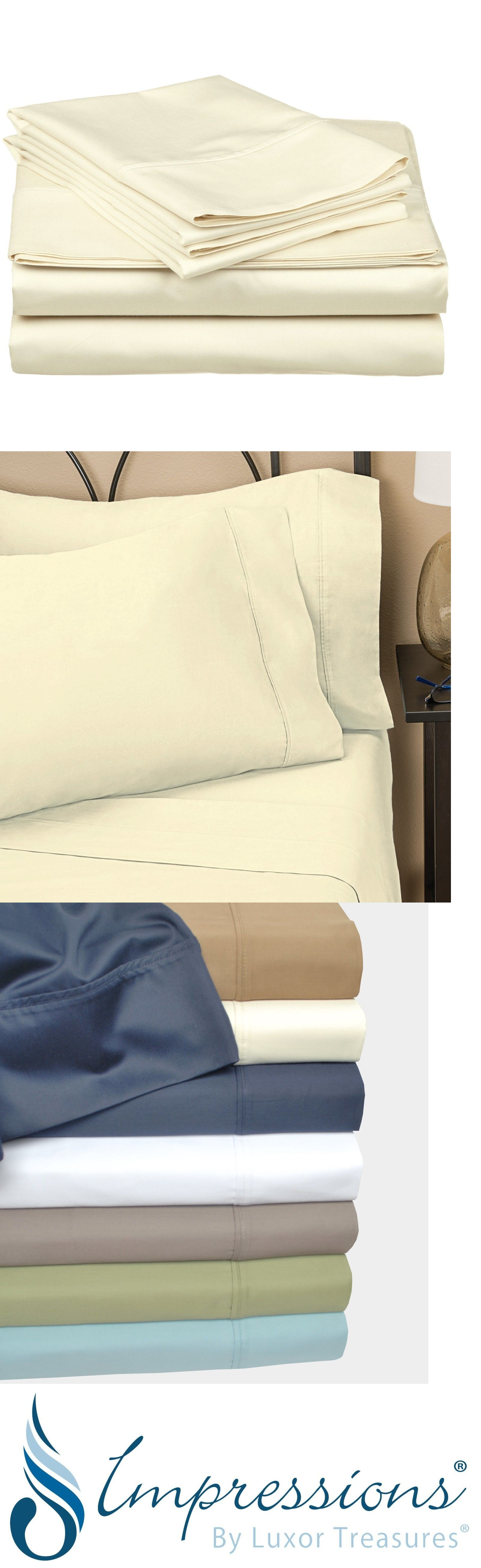 Sheets and pillowcases thread count cotton single