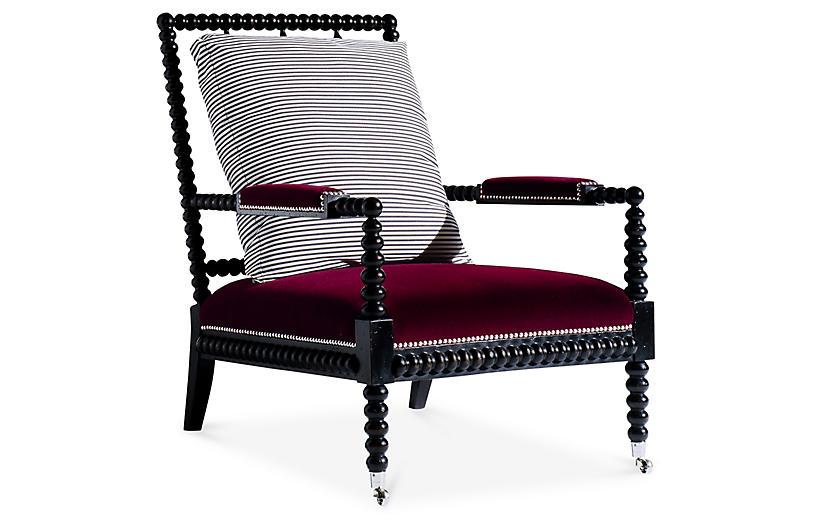Best Ralph Lauren Home Bohemian Accent Chair Spindle Chair 400 x 300