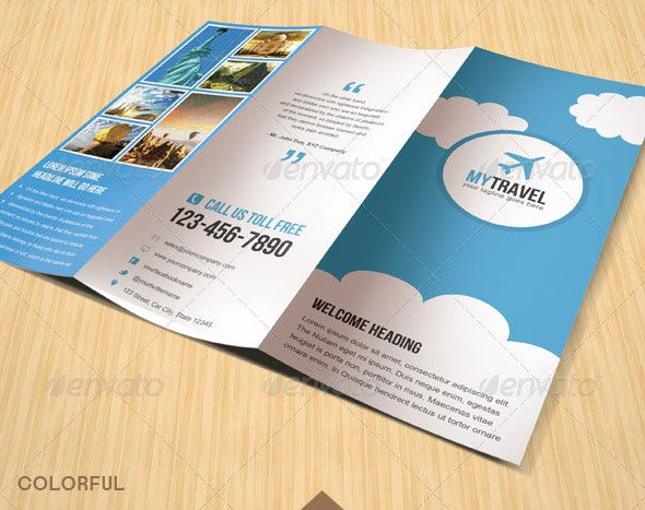 brochure Healthcare Project Pinterest Brochures, Brochure - sample travel brochure