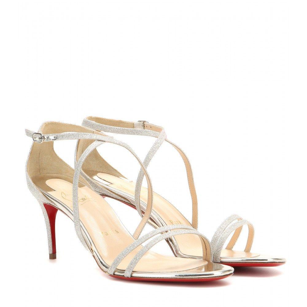8d07d48c4a8 sweden christian louboutin silver sandals 4d00e e6ad6