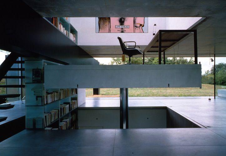 The architecture of concrete rem koolhaas 10 x 10 elevator platform travelling all three floors - Arquitectos de interiores famosos ...