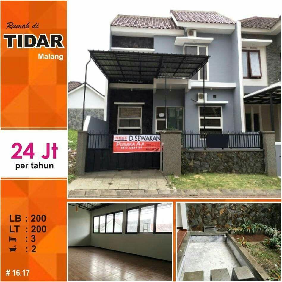 Rumah di Tidar kota Malang