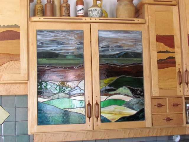 Glass Kitchen Cabinet Doors Toronto Awesome Stained Glass Cupboard