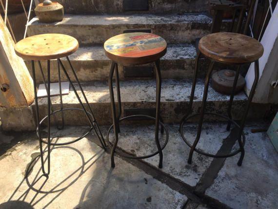 Sgabello da bar gamba tornante legno bar sgabelli sgabello