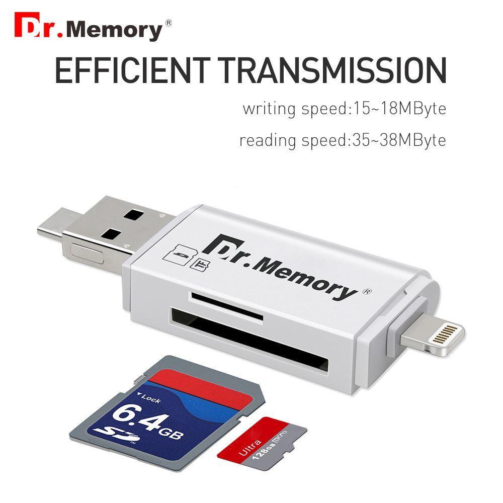 External Storage Microsd Tf Card Reader Usb 30 Sd Adapter For I Flashdrive Otg Apple Iphone Ipad 6s 7 Plus Ios10 Multi Use Metal Pendrive