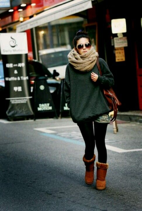 c985e277001 Style Guide: What to Wear With Ugg Boots That Will Keep You Stylish ...