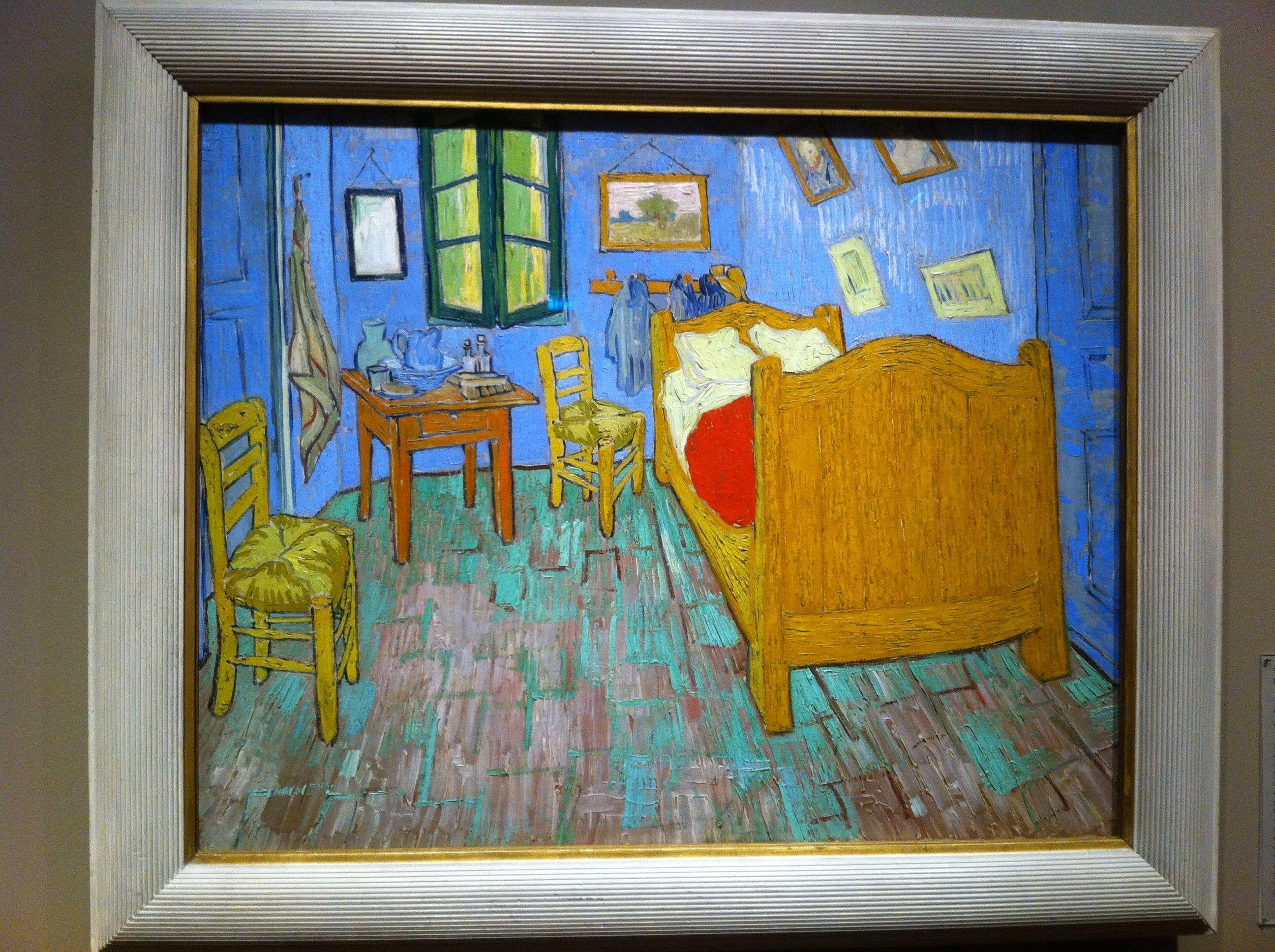 The Bedroom Van Gogh (AIC) Van gogh, Vincent van gogh