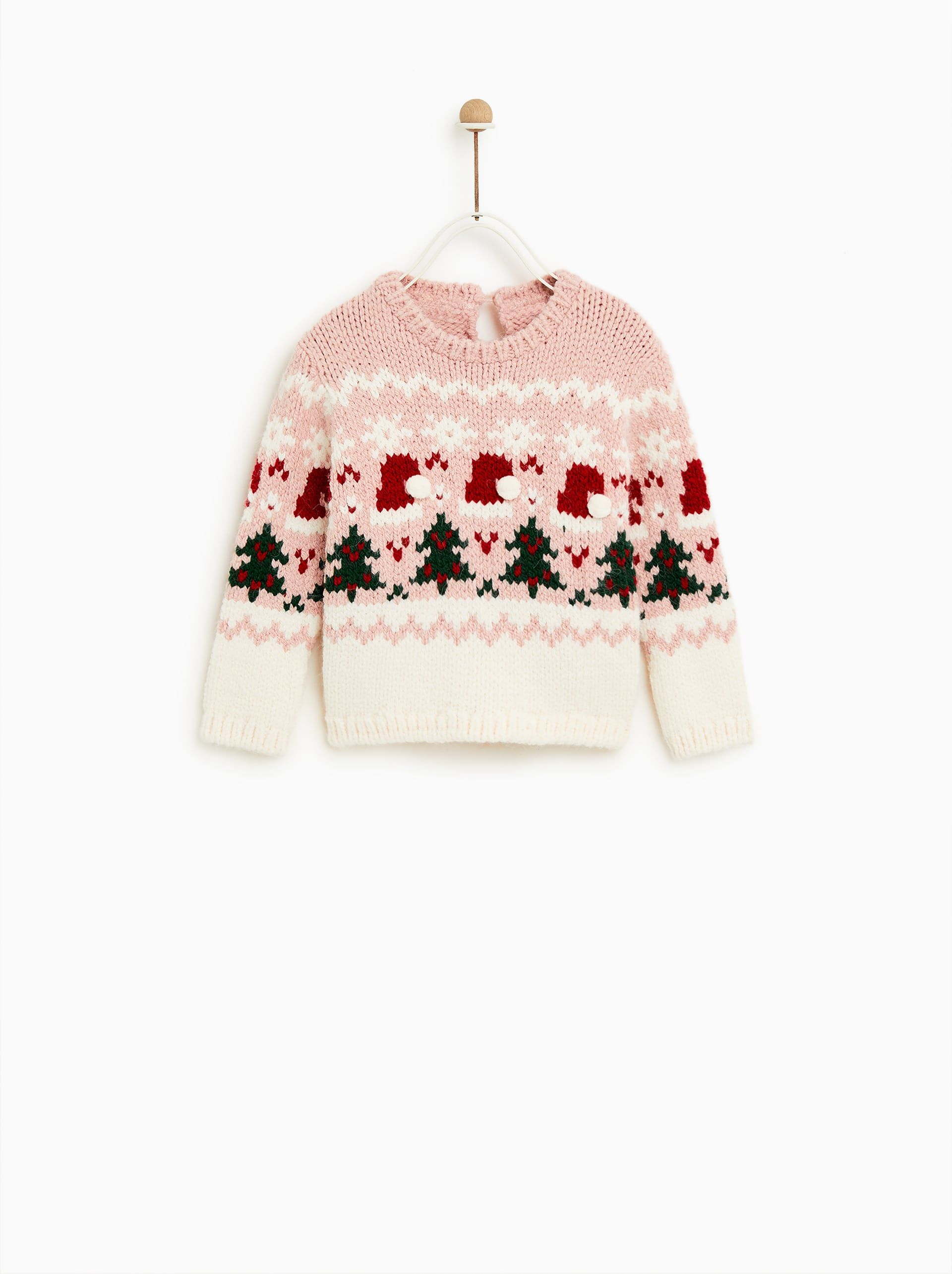 Image 1 Of Pompom Sweater From Zara Toddler Girl Style Girl Outfits Little Fashionista