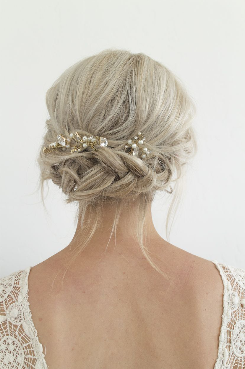 Wedding Party Hairstyles Adorable Wedding Hair Ideas  Wedding Hair Inspiration  Pinterest  Weddings